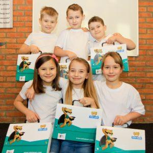 Teddy Eddie School angielski dla dzieci 7 lat