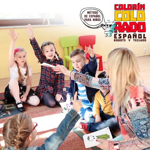 Język hiszpański dla dzieci 6 – 12 lat metodą Colorín Colorado